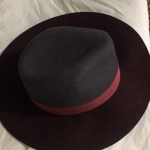 2 toned floppy hat